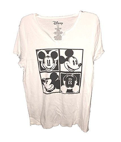 T Classic Warhol Disney Shirt Mouse Mickey Top Print White Pajama Black wIdqw7W4