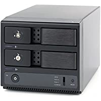 20TB Mobius 2-Bay FireWire 800, eSATA, USB 3.0 RAID Hard Drive Array