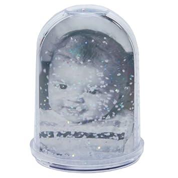 Dorr High Photo Christmas Snow Globe Glitter Photo Amazoncouk