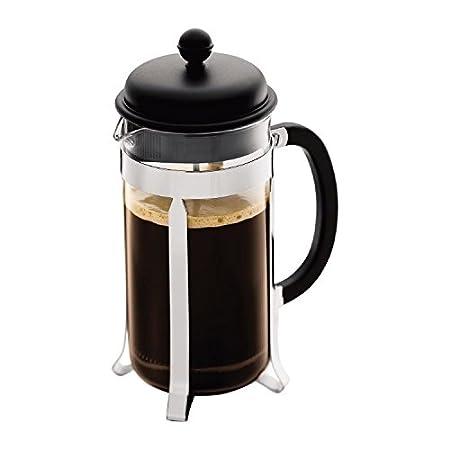 Bodum Cafetera Caffettiera 8 Taza 1L 34 Oz Negro (Paquete de 6 ...