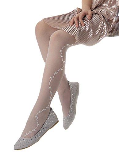 c7ddbdd8a Knittex gorgeous sheer patterned tights Grace 20 Denier.