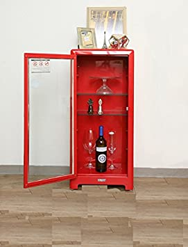 Dulton Cabinet 5 Layer (Red)