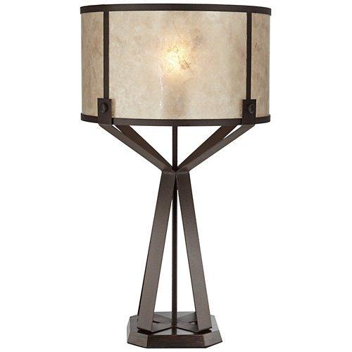 Pacific Coast 87-8258-68 Jasper 150W 1-Light Poly Dark Rust Finish Desk Lamp