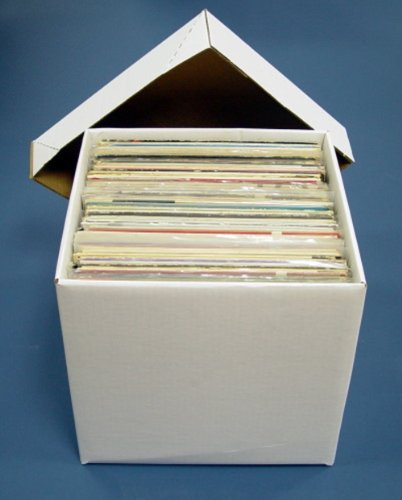 Diskeeper Ultimate LP Record Storage Box by Sleeve (Filing Crates)