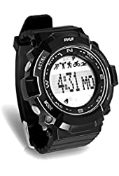 Pyle Sports PSPTR19 - Fitness Tracker Wrist Watch with Countdown Timer and Chronograph Stop Watch - Pedometer Counts Steps and Calories - Built in Sleep Monitoring Function