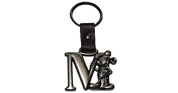 Amazon.com: Auténtico Disney Mickey Mouse Letra M peltre ...