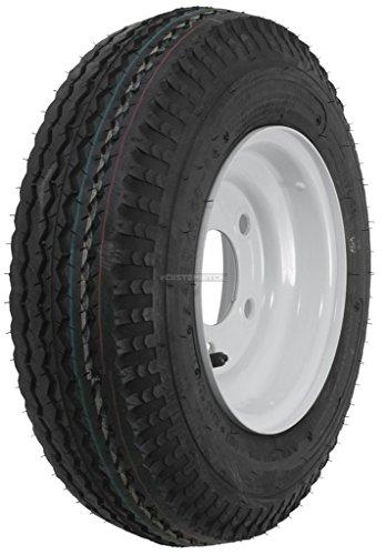2-Pack Kenda Trailer Tire On Rim #5230 4.80-8 480-8 8
