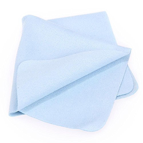 Whitelotous 10pcs Suede Cleaning Cloth for Lenses Camera Computer Screen Glasses
