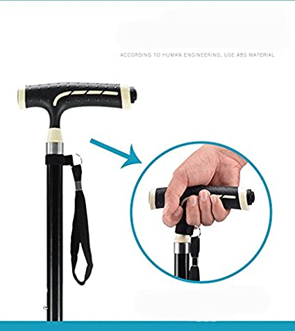 Amazon.com: G & X cañas bastón muletas con pequeño base de 4 ...