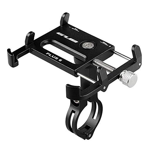 Smdoxi Aluminum alloy bicycle bracket mountain bike mobile phone bracket handle mobile phone holder, extender. Bicycle equipment.