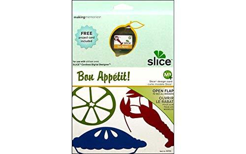 (MAKING MEMORIES Slice Design Card Ms Plus Machine, Bon Appetit)