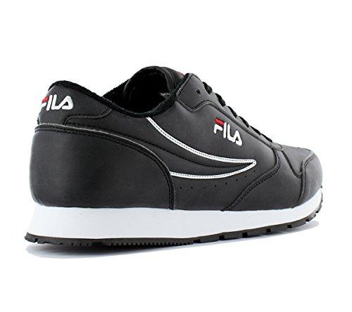 Fashion Low Turnschuhe Schwarz Herren Orbit Sneaker Fila Mehrfarbig Schuhe wFzfTqW1