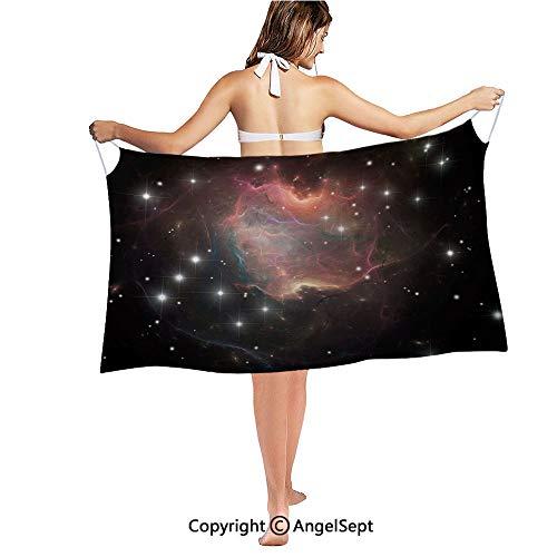 RWNFA Printed Women's Sarong Swimsuit Cover Up Summer Beach Wrap Skirt Swimwear Bikini Cover-ups