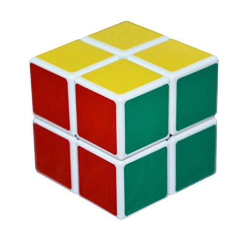 3QMart 2x2x2 Professional Speed Puzzle Magic Cube White
