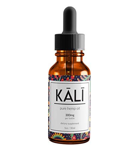 Kali Hemp Organic Hemp Oil Extract - Pure Hemp Seed Oil for Pain Relief & Anxiety (300mg)