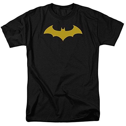 DC Comics Batman Hush Logo Mens Short Sleeve Shirt X-Large Black at Gotham City Store