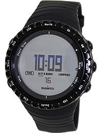 Suunto Men's Core Regular Black SS014809000 Black Resin Quartz Watch