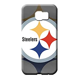 samsung galaxy s6 edge Protection New Arrival Forever Collectibles cell phone carrying skins pittsburgh steelers