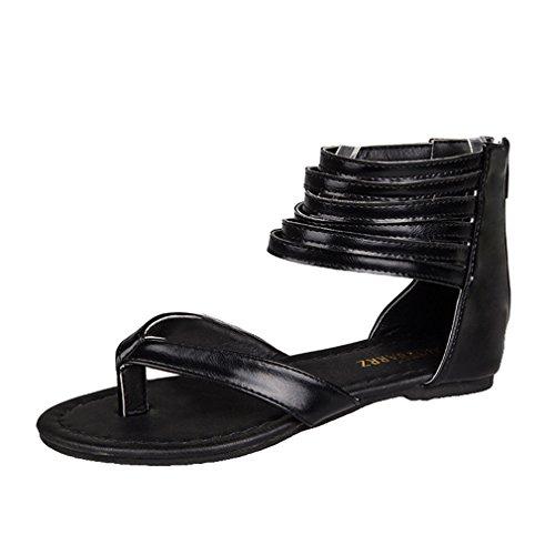 Verano Chancletas Moda Abierto Mujer Playa Toe Peep Zapatos Sandalias Planos Plano Zapatos De Moda Jianhui Sandalias De Romanoas Casuales Sandalias Zapatos wX0E88