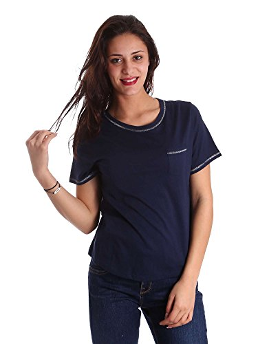 Superdry G60028RP T-shirt Donna Blu S