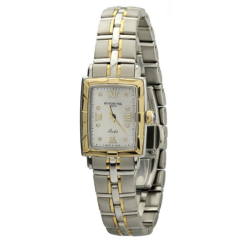 - Raymond Weil Parsifal MOP Dial Two-Tone SS Quartz Ladies Watch 9740-STS-00995