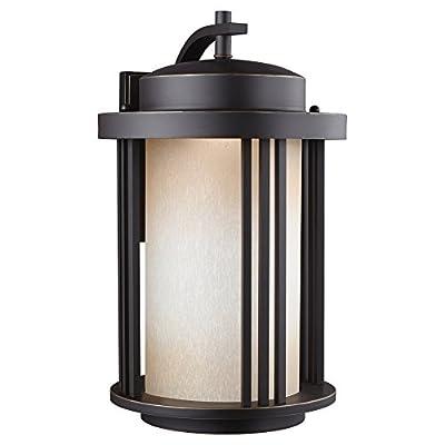 Sea Gull Lighting Crowell 8847991DS Outdoor Wall Lantern