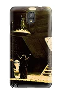 Galaxy Note 3 Cover Case - Eco-friendly Packaging(star Wars A New Hope George Lucas Force Jedi Yoda Darth Vader People Movie)