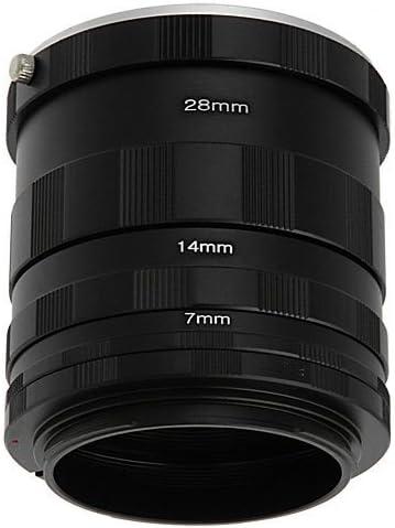 600D XS T1i 1D C 650D T4i 500D 70D 1100D T3 700D Polaroid Canon EOS Macro Extension Tube Set For Extreme Close Up Photography For The Canon Digital EOS Rebel SL1 T3i T2i 450D XT XTI 1000D T5i 350D 400D XSI 100D 60D, 550D