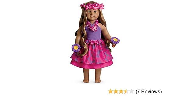 ea461967f6834 Amazon.com: American Girl Kanani's Luau Outfit Set for Doll