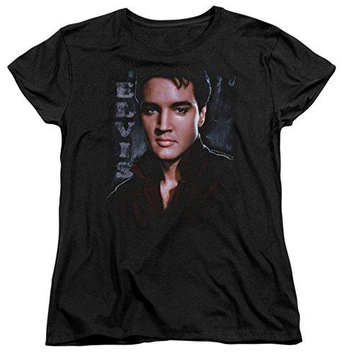 - Womens: Elvis Presley - Tough Ladies T-Shirt Size XL