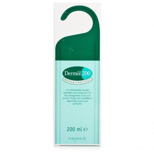 - Dermol 200 shower emollient 200ml dry skin itchy