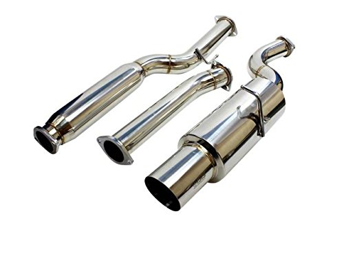 ISR Performance Parts IS-GT-GEN20 GT Single Exhaust - Hyundai Genesis Coupe 2.0T 09+