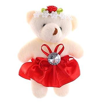 Amazon.com: VIPTRI - Ramo de peluches de 4.7 in para oso de ...