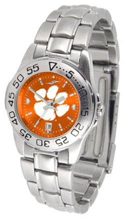 (Clemson Tigers Sport Steel AnoChrome Women's Watch)