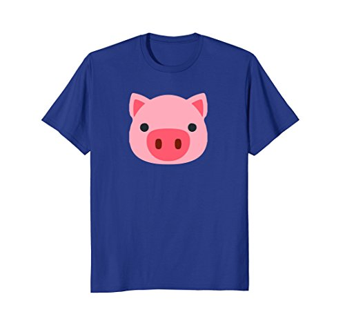 Pig Emoji Cute Porky Head Design T Little Pink Pig T Shirt