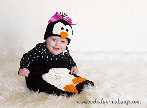 Poppy Penguin Hat And Cocoonblanket Set Crochet Pattern Kindle