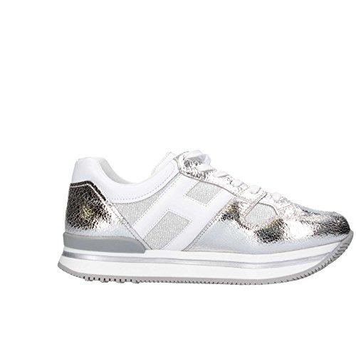 Hogan Junior HXC2220T541G8S0906 Sneaker Kind Silber