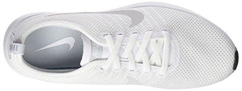 Nike Damen W Dualtone Racer Laufschuhe, Schwarz, 35.5 EU Elfenbein (White/white/pure Platinum/black)