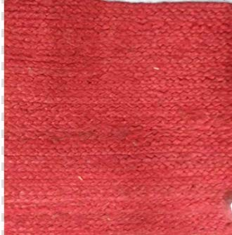 Better Homes and Garden Red Jute placemat