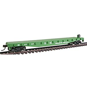 Walthers, Inc. Ready to Run Burlington Northern Flatcar
