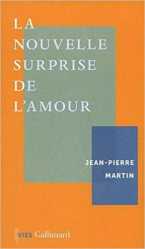 La nouvelle surprise de l'amour - Jean-Pierre Martin 2016