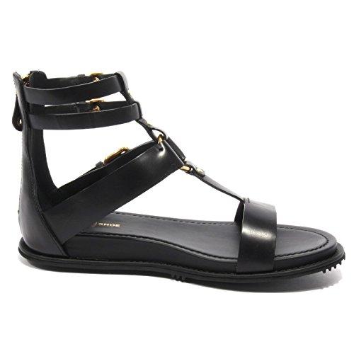 B2374 sandalo donna CAR SHOE scarpa nero flip flop shoe woman Nero