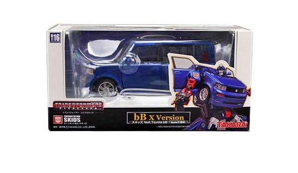 Amazon Com Takara Tomy Transformers Japanese Binaltech Skids Midnight Blue Toyota Scion Xb Action Figure Bt 16 Everything Else
