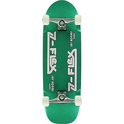Z-Flex Skateboards Jay Adams Green Metal Flake Cruiser Complete Skateboard - 9.5