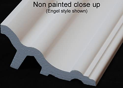 by Austin Crown Molding 48 Ft of 3.5 Carson Foam Crown Molding Room kit W//precut Corners on end of Lengths 4 Inside /& 1 Out Available in 5 Other Styles and Quantities-See Our Other LISTINGS