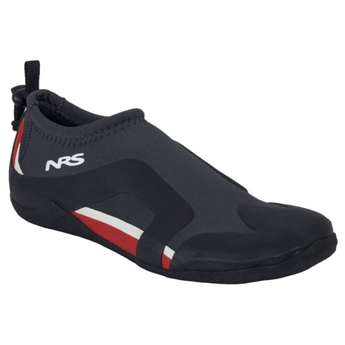 NRS Kinetic Water Shoe - Men's, Black/Red, 5, 30042.01.100 by NRS