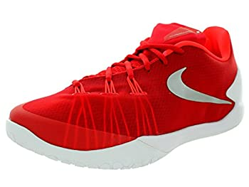 Nike Hyperchase Tb Mens Trainers 749554 Sneakers Shoes (Uk 12 Us 13 Eu 47.5, University Red Metallic Silver White 601) 0