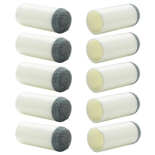 Slip-On Tips for Pool Cues - 11mm ()
