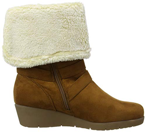 Cute Boots Cosy Wedge Damen Langschaftstiefel and Browns Joe qYfwII