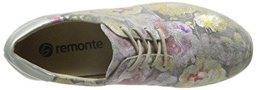 Multicolore Stringate Scarpe multi Dorndorf silver Remonte Donna R4010 mehrfarbig 90 xw6tRtqXC